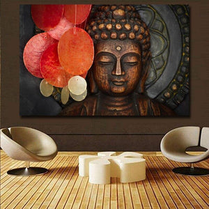 Bohemian Buddha Bronze Art Print from Gallery Wallrus | Eclectic Wall Art & Decor with Worldwide Shipping