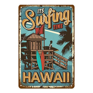 Vintage Hawaii Beach & Tiki Bar Wall Art Signs Collection from Gallery Wallrus | Eclectic Wall Art & Decor with Worldwide Shipping