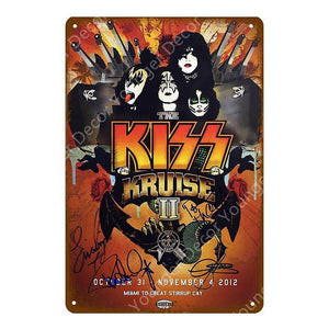 Classic Movie Metal Wall Poster Signs from Gallery Wallrus | Eclectic Wall Art & Decor with Worldwide Shipping