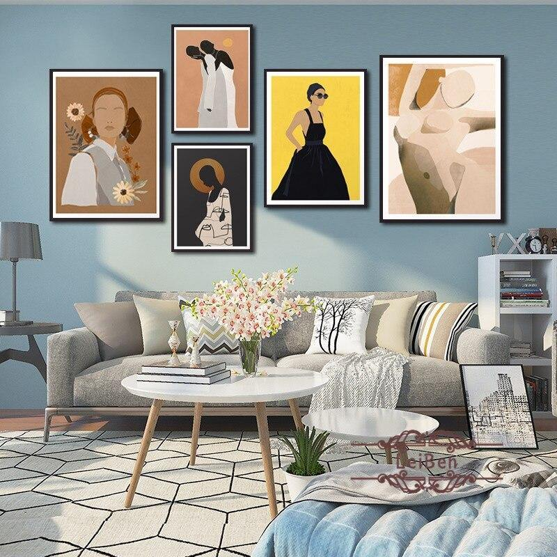 Classical Fashion Illustration Figure Art Portraits from Gallery Wallrus | Eclectic Wall Art & Decor with Worldwide Shipping