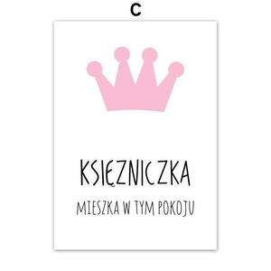 Ksiezniczki Polish Princess Gallery Wall Art Prints from Gallery Wallrus | Eclectic Wall Art & Decor with Worldwide Shipping