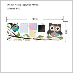 Witch Bird Owl Photo Frames Wall Stickers from Gallery Wallrus | Eclectic Wall Art & Decor with Worldwide Shipping