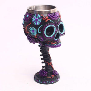 Funky Skull Wine Mug from Gallery Wallrus | Eclectic Wall Art & Decor with Worldwide Shipping