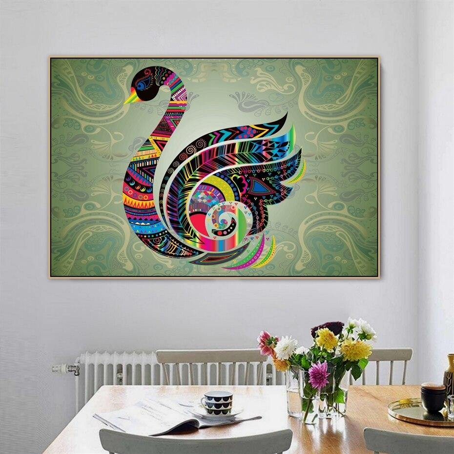 Swan Collage Art Print from Gallery Wallrus | Eclectic Wall Art & Decor with Worldwide Shipping