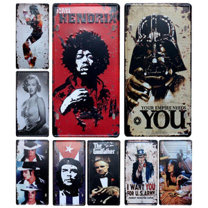 Cool Vintage Icons Metal Posters from Gallery Wallrus | Eclectic Wall Art & Decor with Worldwide Shipping