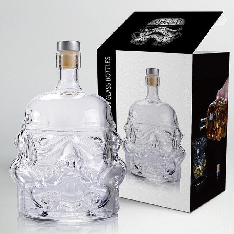 Storm trooper Drinks Decanter And Crystal Glass from Gallery Wallrus | Eclectic Wall Art & Decor with Worldwide Shipping