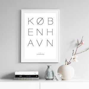 Copenhagen Hygge Gallery Wall Art Prints from Gallery Wallrus | Eclectic Wall Art & Decor with Worldwide Shipping