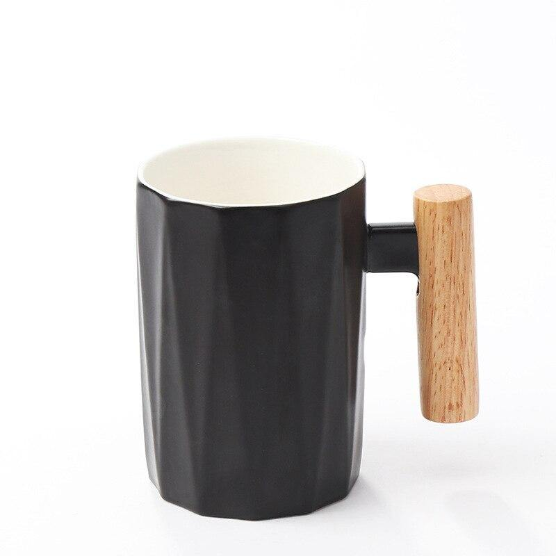 Mug with Wooden Handle and Lid Gift Set from Gallery Wallrus | Eclectic Wall Art & Decor with Worldwide Shipping