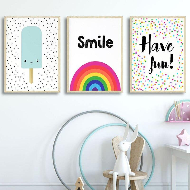 Cute Pop Art Style Gallery Wall Art Pictures for Kids Bedroom from Gallery Wallrus | Eclectic Wall Art & Decor with Worldwide Shipping