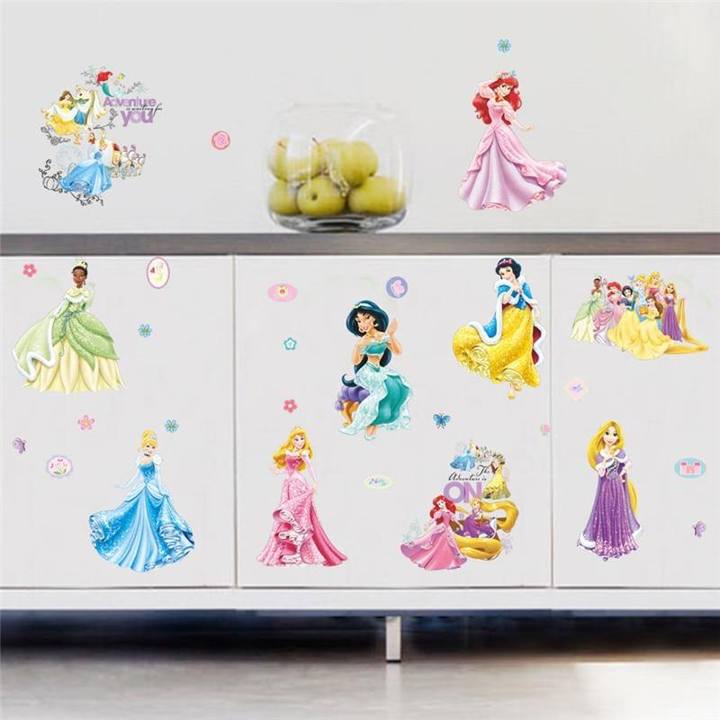 Disney Princess Girl Room Wall Stickers from Gallery Wallrus | Eclectic Wall Art & Decor with Worldwide Shipping