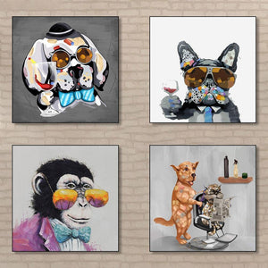 Fun Bright Animal Gallery Wall Art Pictures from Gallery Wallrus | Eclectic Wall Art & Decor with Worldwide Shipping
