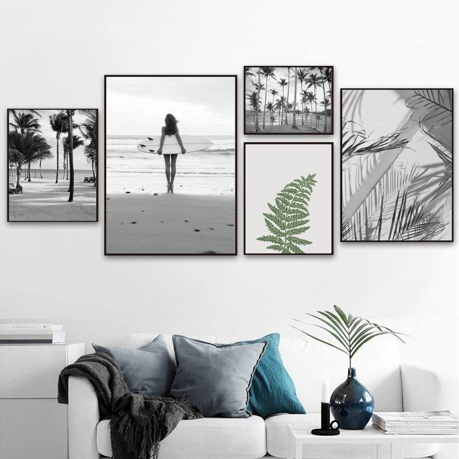 Black & White Calming Nature Gallery Wall from Gallery Wallrus | Eclectic Wall Art & Decor with Worldwide Shipping
