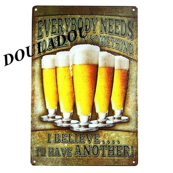 Funny Humor Vintage Beer and Alcohol Gallery Wall Art Signs, Mix & Match from Gallery Wallrus | Eclectic Wall Art & Decor with Worldwide Shipping