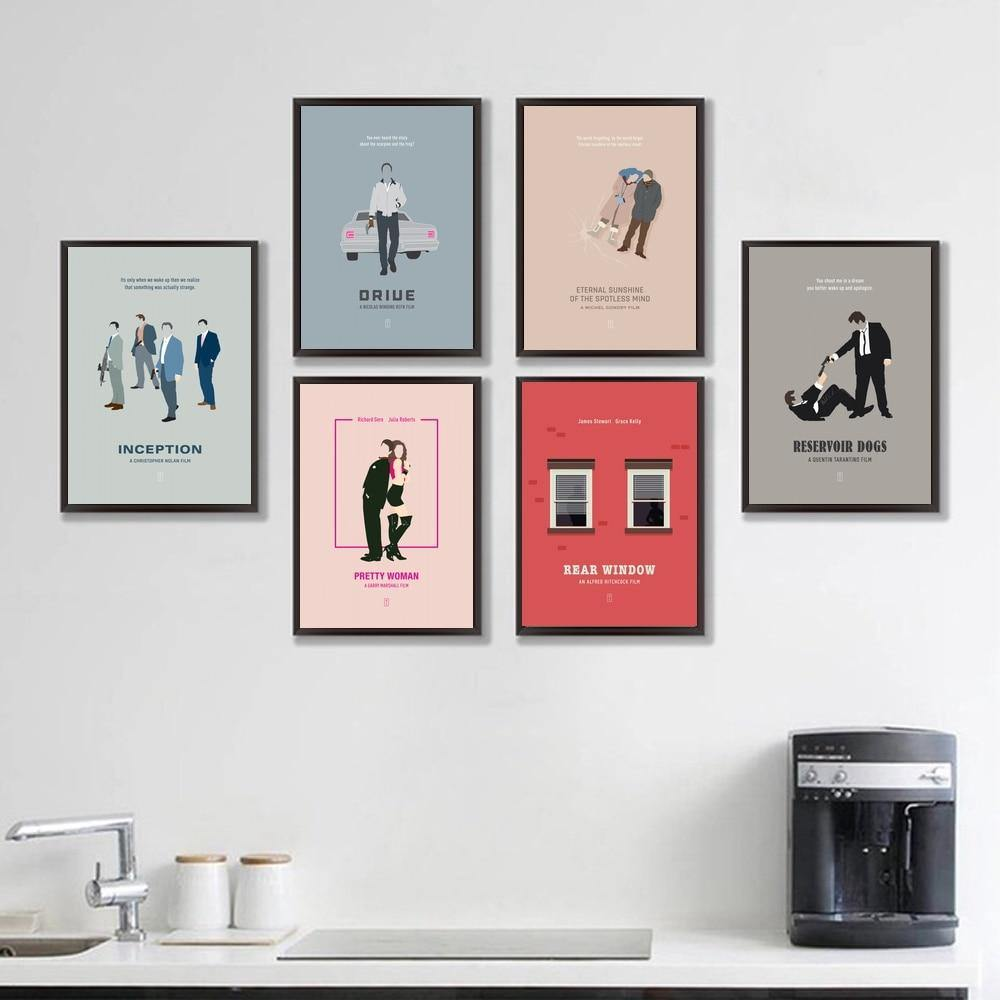 Cool Movie Illustration Gallery Wall Art Prints from Gallery Wallrus | Eclectic Wall Art & Decor with Worldwide Shipping