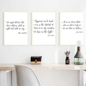 Harry Potter Dumbledore Quote Art Prints from Gallery Wallrus | Eclectic Wall Art & Decor with Worldwide Shipping