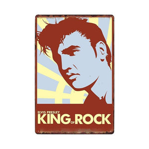Elvis Presley Metal Wall Art Signs Mix & Match from Gallery Wallrus | Eclectic Wall Art & Decor with Worldwide Shipping