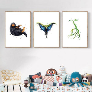 Fantastic Beasts Niffler Art Prints from Gallery Wallrus | Eclectic Wall Art & Decor with Worldwide Shipping