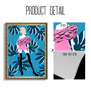 Mix & Match Hipster Girl Art Prints for Gallery Wall from Gallery Wallrus | Eclectic Wall Art & Decor with Worldwide Shipping