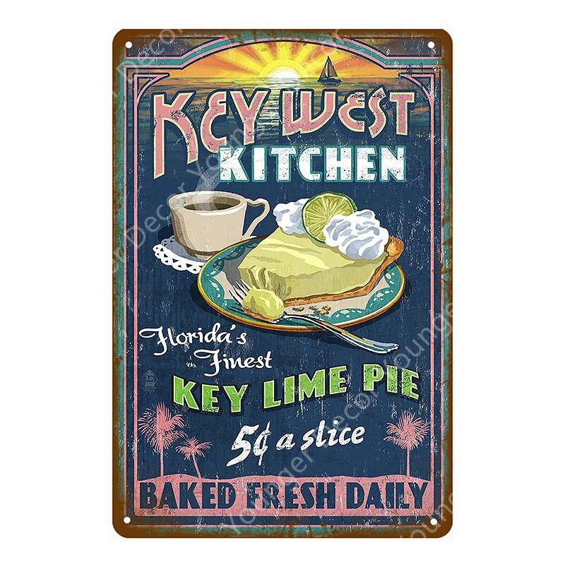 Vintage Old School Food Menu Wall Signs Bulk Buy from Gallery Wallrus | Eclectic Wall Art & Decor with Worldwide Shipping