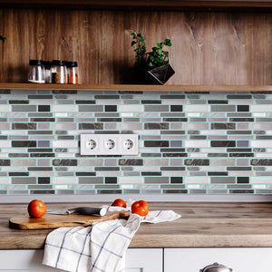 3D Kitchen Mosaic Tiles Wall Sticker Collection from Gallery Wallrus | Eclectic Wall Art & Decor with Worldwide Shipping