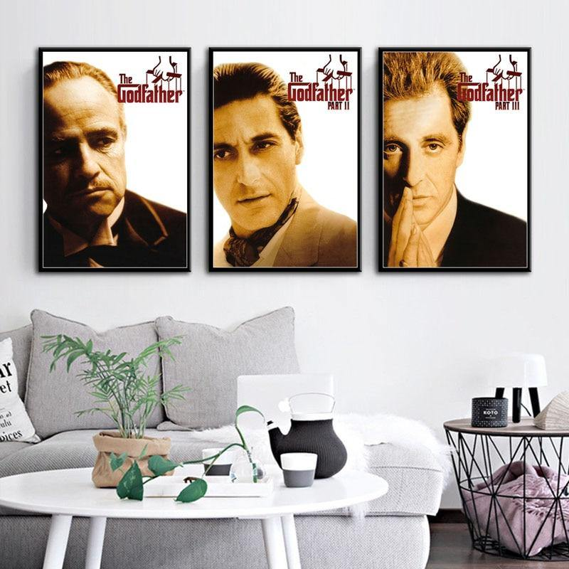 The Godfather Cast Wall Art Pictures from Gallery Wallrus | Eclectic Wall Art & Decor with Worldwide Shipping