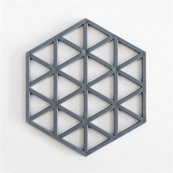 Geometric Silicone Coaster or Wall Art from Gallery Wallrus | Eclectic Wall Art & Decor with Worldwide Shipping