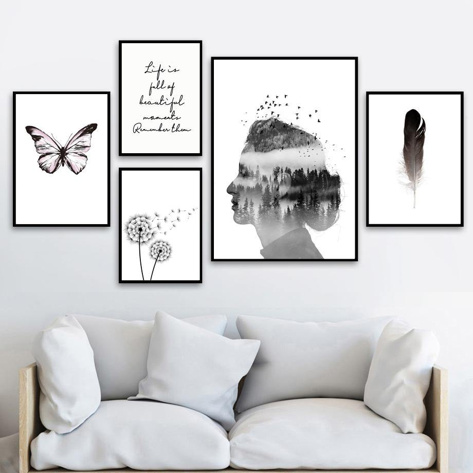 Black & White Minimalist & Abstract Gallery Wall Art Prints from Gallery Wallrus | Eclectic Wall Art & Decor with Worldwide Shipping