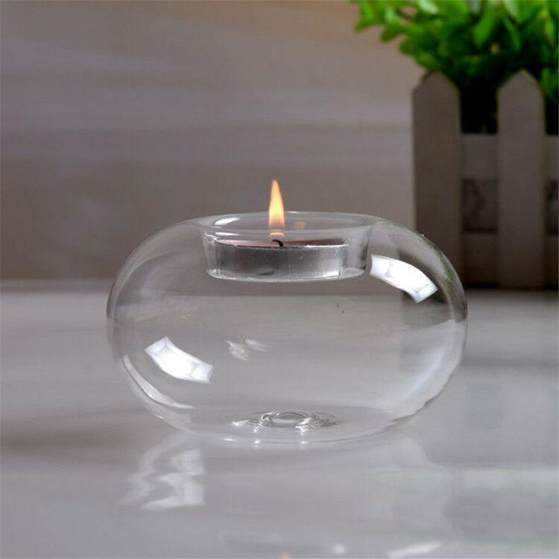 Glass Bowl Tealight Holders from Gallery Wallrus | Eclectic Wall Art & Decor with Worldwide Shipping