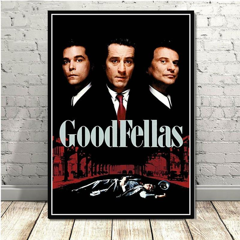 Classic Goodfellas Movie Various Wall Art Prints from Gallery Wallrus | Eclectic Wall Art & Decor with Worldwide Shipping