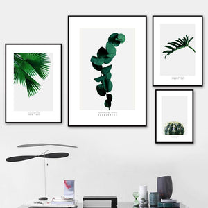 Vivid Green Plant Gallery Wall Art Prints from Gallery Wallrus | Eclectic Wall Art & Decor with Worldwide Shipping