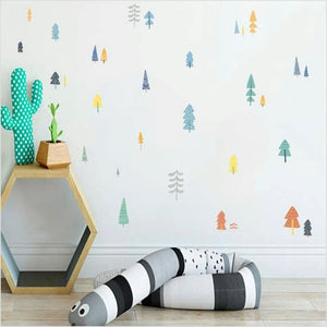 Colorful Tree Wall Stickers for Childrens Bedroom from Gallery Wallrus | Eclectic Wall Art & Decor with Worldwide Shipping