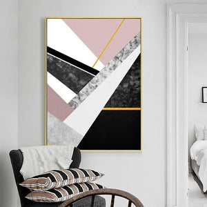 Marble Geometric Art Deco from Gallery Wallrus | Eclectic Wall Art & Decor with Worldwide Shipping