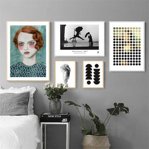 Bohemian Mixed Size Gallery Wall from Gallery Wallrus | Eclectic Wall Art & Decor with Worldwide Shipping