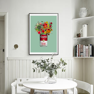 Campbell's Soup Vase from Gallery Wallrus | Eclectic Wall Art & Decor with Worldwide Shipping