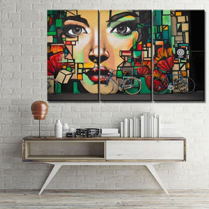 Graffiti Wall Art Trio Artwork from Gallery Wallrus | Eclectic Wall Art & Decor with Worldwide Shipping