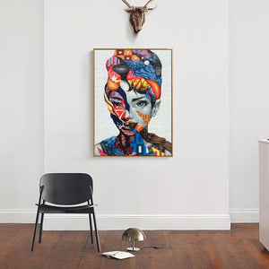 Urban Audrey Painting from Gallery Wallrus | Eclectic Wall Art & Decor with Worldwide Shipping