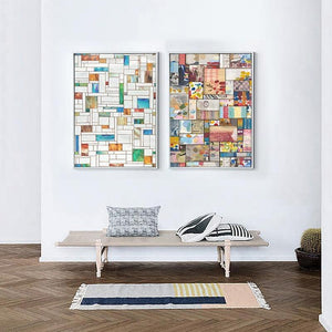 Blocks of Color Gallery Wall Duo from Gallery Wallrus | Eclectic Wall Art & Decor with Worldwide Shipping
