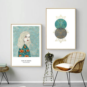 You're My Sunshine Boho Gallery Wall Set from Gallery Wallrus | Eclectic Wall Art & Decor with Worldwide Shipping