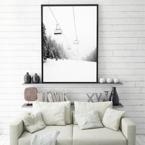 Ski Mountain Photography Art Print from Gallery Wallrus | Eclectic Wall Art & Decor with Worldwide Shipping
