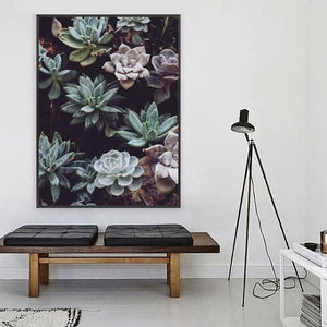 Moody Plant Painting from Gallery Wallrus | Eclectic Wall Art & Decor with Worldwide Shipping