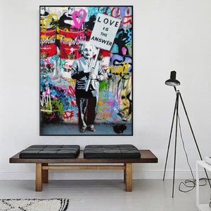 Love is the Answer Art Print from Gallery Wallrus | Eclectic Wall Art & Decor with Worldwide Shipping