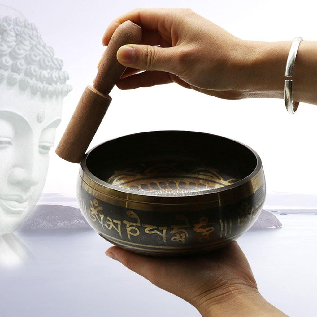 Tibetan Buddhist Singing Bowl from Gallery Wallrus | Eclectic Wall Art & Decor with Worldwide Shipping