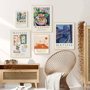 Henri Matisse Artworks from Gallery Wallrus | Eclectic Wall Art & Decor with Worldwide Shipping
