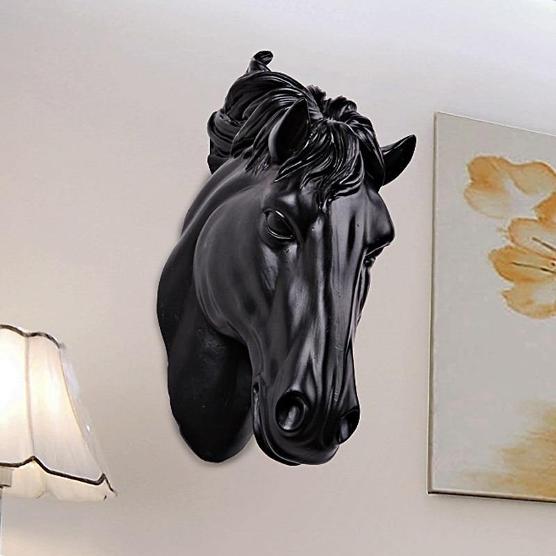 Horse Head Wall Sculpture from Gallery Wallrus | Eclectic Wall Art & Decor with Worldwide Shipping