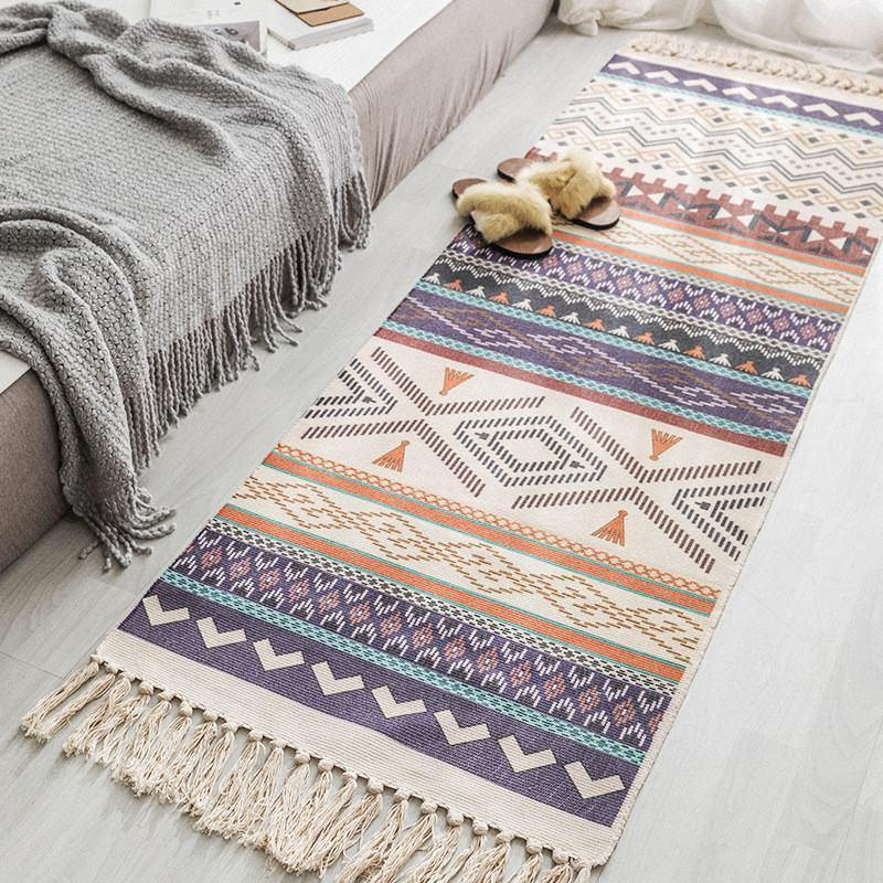 Tribal Ethnic Bohemian Patterned Rugs from Gallery Wallrus | Eclectic Wall Art & Decor with Worldwide Shipping