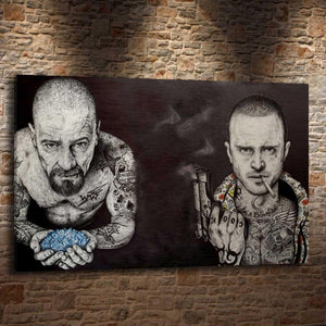 Breaking Bad Big Gangster Artwork from Gallery Wallrus | Eclectic Wall Art & Decor with Worldwide Shipping
