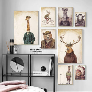 Rustic Human Body Animal Wall Art Prints from Gallery Wallrus | Eclectic Wall Art & Decor with Worldwide Shipping