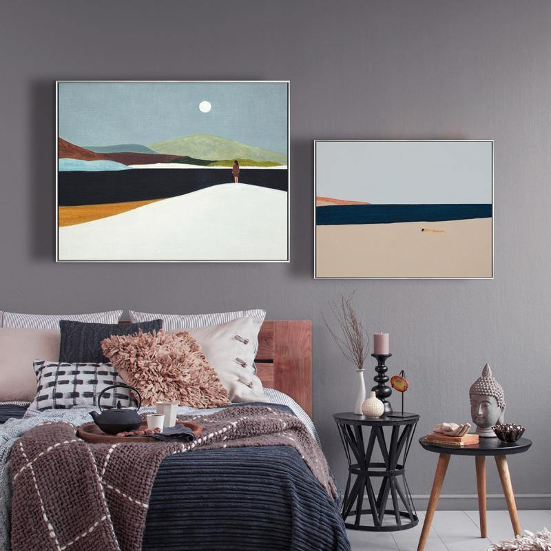 The Desert Prairie Endless Art Paintings from Gallery Wallrus | Eclectic Wall Art & Decor with Worldwide Shipping
