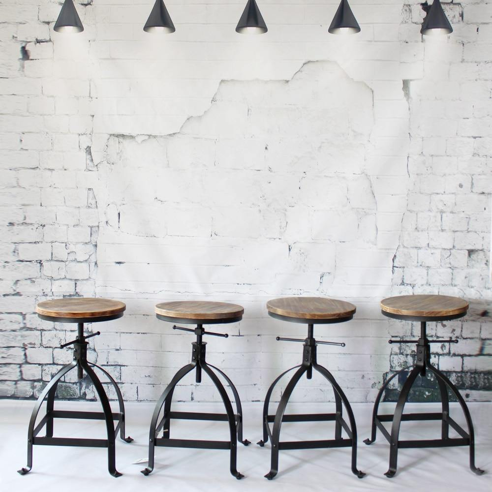 Industrial Bar Stool from Gallery Wallrus | Eclectic Wall Art & Decor with Worldwide Shipping