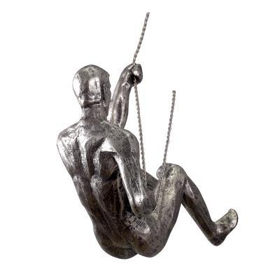 Iron Wall Climbing Sculpture from Gallery Wallrus | Eclectic Wall Art & Decor with Worldwide Shipping